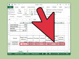 Printable Amortization Schedule Homebiz4u2profit Com