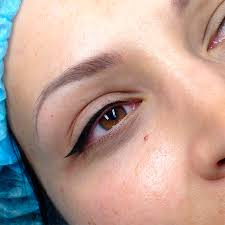 татуаж глаз в киеве сделать перманентный макияж татуаж век