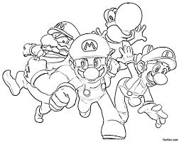 Guarda Tutti I Disegni Da Colorare Di Super Mario Www Con Disegni Di