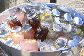 ready made cocktails in mason jars housewarming