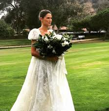 Bianca Balti ties the knot at the Ranch at Laguna Beach.