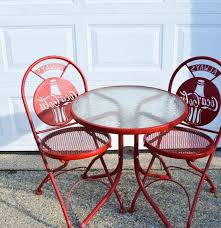 coca cola bistro table and chairs 28 images 2