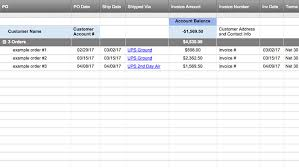 purchase order log template excel smartsheet