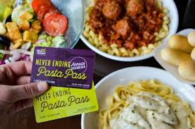 olive garden s pasta passes go on thursday courtesy of olive garden