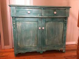let go furniture. Simple Furniture Antique Buffetcabinet Refinished In Distressed Green In Let Go Furniture