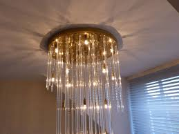 decorative glass rod and polished chrome ceiling pendant frosted glass rod chandelier bronze crystal