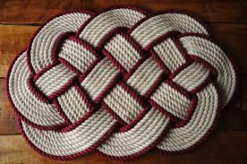 nautical block 2 piece bath rug set 21 by 34 inch and 27