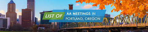 aa meetings in portland oregon