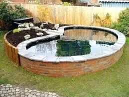 above ground pond ideas yahoo image search results garden plans design