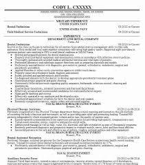 Dental Technician Cv Dental Technician Resume Sample Technician Resumes