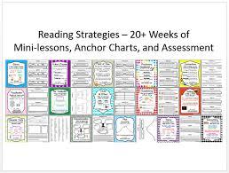 Reading Strategies Package 20 Weeks Of Mini Lessons