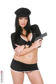 Aletta Ocean in Remand centre iStripper