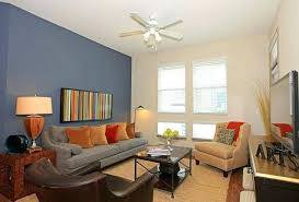 blue accent wall bedroom ideas paint for small kitchen 1 cream gray walls living room kids