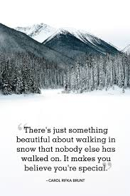 Beautiful Winter Quotes Best of 24 Best Winter Quotes Snow Quotes You'll Love