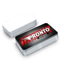 Sales Business Cards Business Cards With Rounded Corners 1 Side