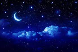 Blue Moon and Star Wallpapers - Top ...