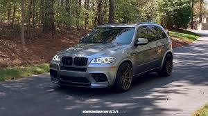 BMW X5 M Wrapped in ADV.1 Wheels, Installation by Wheels Boutique ...