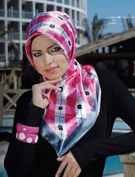 صور ملابس ولفات طرح محجبات موضه 2014