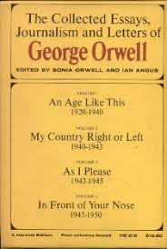 remembering george orwell collected essays journalism and letters  box2