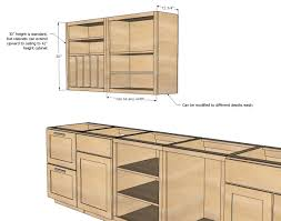 kitchen furniture plans. Ana White | Build A Wall Kitchen Cabinet Basic Carcass Plan Free And Easy DIY Furniture Plans