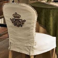 18 fabulous french inspired home offices natural linen slip covered chairs and linens
