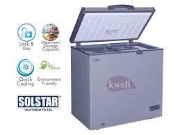 solstar 210 liter chest freezer