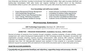 Sales Summary Resume Executive Summary Resume Samples Sample Executive Summary For