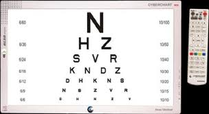 20 20 Vision Chart Lcd Cyber Vision Chart Buy Lcd Cyber Vision Chart Color Vision Testing Equipment Ophthalmic Equipment Product On Alibaba Com