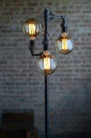 industrial lighting bare bulb light fixtures. Brilliant Industrial Industrial Floor Lamp Pipe Light Modern Lamps For Steampunk Lighting  Fixtures  In Industrial Lighting Bare Bulb Light Fixtures T