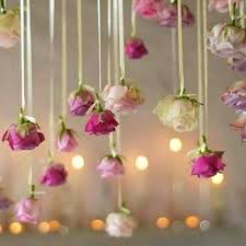 hanging ceiling decor trend alert hanging flowers give your wedding a magical effect diy ceiling