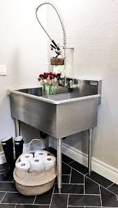 Bathroom Utility Sink Fascinating Pin By R On Laundry Ideas Pinterest Laundry Room Laundry And Room