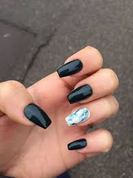 Black Coffin Shape Nail Designs Top 100 Coffin Nail 2019 Coffin Shape Nails Chorme Nails