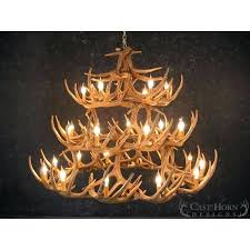 whitetail deer antler chandelier real whitetail antler chandelier