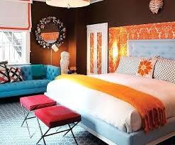 bedroom colors orange. Orange And Blue Bedroom Colors Brown White Crimson In The .