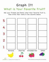 Graph It What Is Your Favorite Fruit Preschool Graphs