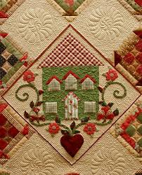 49 best Modern Quilts images on Pinterest | Patchwork, Blankets ... & Close-up, The House on Edgewood Lane by Lynn Wilder at Sew'n · Longarm  QuiltingMachine ... Adamdwight.com