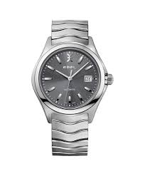 men s designs ebel us ebel men s watch ebel wave automatic stainless steel case grey dial