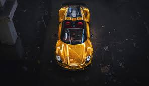 porsche 918 spyder black wallpaper. vehicles porsche 918 spyder car supercar vehicle yellow wallpaper black