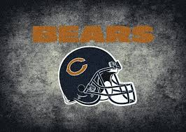 chicago bears rug team distressed fan cave rugs chicago bears rug