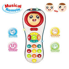 Educational Remote Toys 2 Year Olds Girl, Learning Count 1-3 Old Baby Boy Kids 3-12 Months Girl Gift 9-18 Toddler Toy Age 1 3