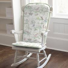 wooden rocking chair for nursery. rocking chair covers nursery rhyme toile sage rocker kingdom picture in pads clearly white painted wooden body good seating place interesting people for h