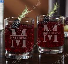 whiskey glass cups personalized crystal rock whiskey glasses