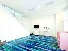 painted floor ideas inspiring flooring design cool spectrum of glossy blue color designs n63 designs