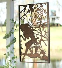 outdoor metal wall art amazon