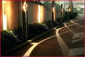 fence lights solar