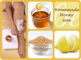 homemade honey wax strips
