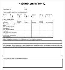 Customer Survey Template Kazakia Info