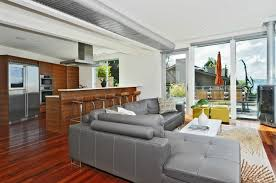 cool grey sectional modern living room
