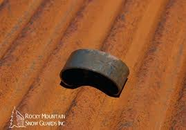 metal roof snow guard for corrugated panels rusted roofing rust satchel guards and rusty roofs