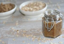 diy oatmeal brown sugar scrub